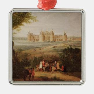 The Chateau de Chambord, 1722 Metal Ornament