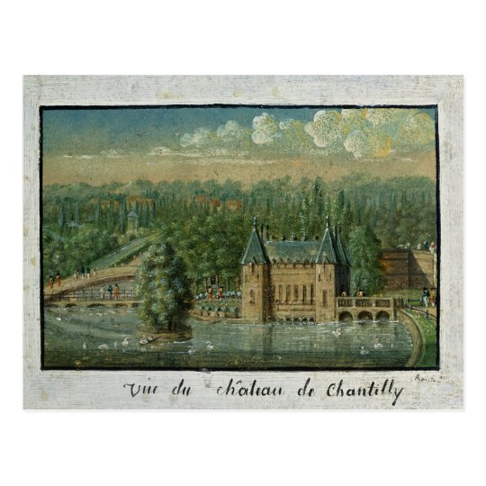 The Chateau de Chantilly Postcard