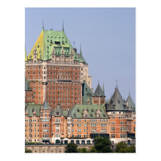 The Chateau Frontenac in Quebec City, Canada. Postcard