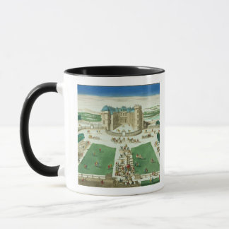 The Chateau Rambouillet, engraved by Antoine Aveli Mug