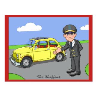 The Chauffeur Postcard
