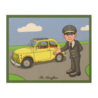 The Chauffeur Wood Print