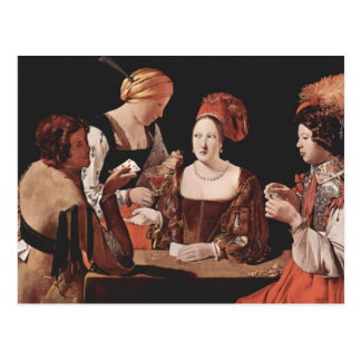 The Cheat (with the Ace of Diamonds) - 1635 Postcard