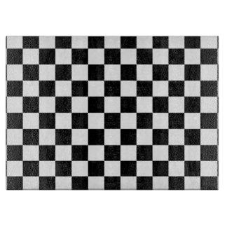The Checker Flag Cutting Board