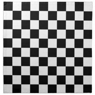 The Checker Flag Napkins