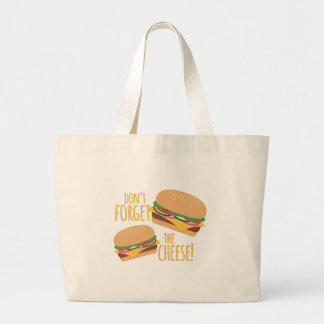 The Cheese Large Tote Bag