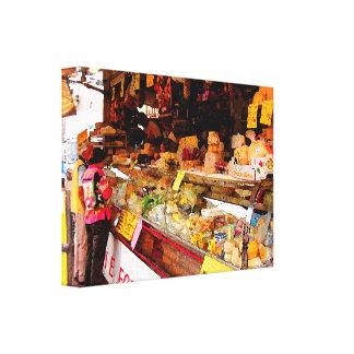 The Cheese Vendor Canvas Print