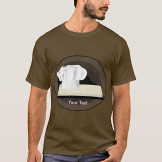The Chef Mens Brown Sleeve T-shirt