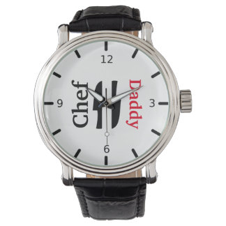 The Chef Personalized Wrist Watch