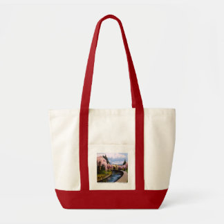 The Cherry Blossoms in Branch Brook Park, NJ. Tote Bag