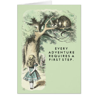 The Cheshire Cat Card