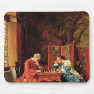 The Chess Players, 1856 Mouse Pad