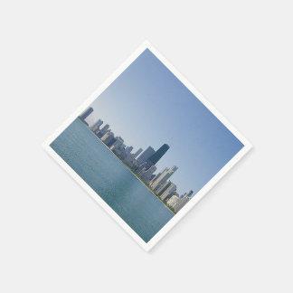 The Chicago Skyline Napkin