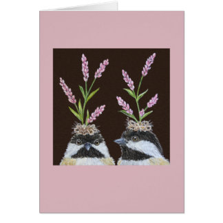 The Chickadee Sisters card