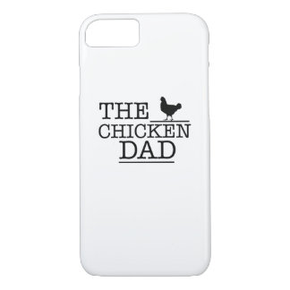 The Chicken Dad Funny  Pet Lover Gift For Dad Papa iPhone 8/7 Case