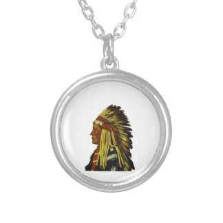 The Chief Silver Plated Necklace