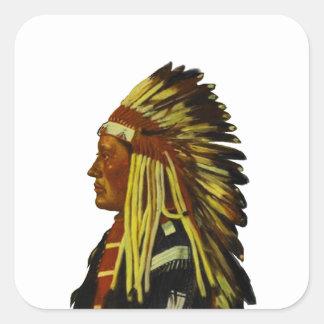 The Chief Square Sticker