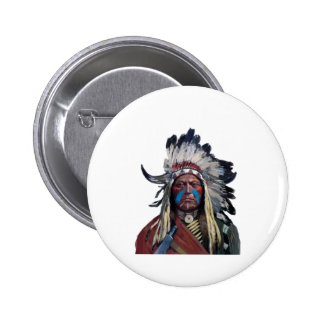 The Chieftain 2 Inch Round Button