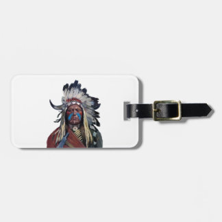 The Chieftain Luggage Tag