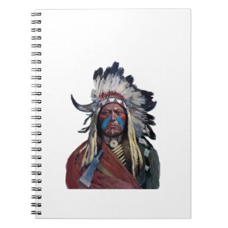 The Chieftain Spiral Notebook