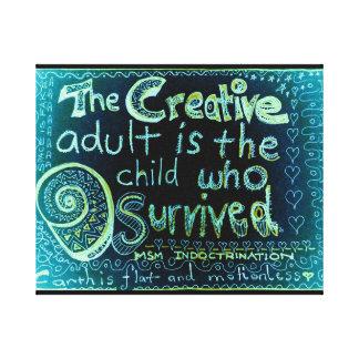 The Child Canvas Print
