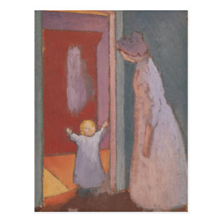 The Child in the Doorway, 1897 Postcard