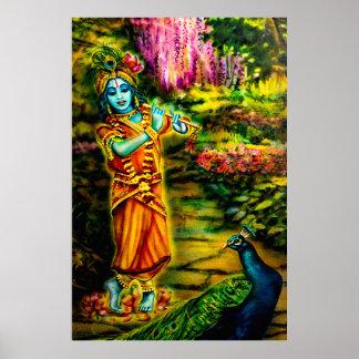 'The Childhood of Krishna' Poster