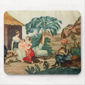 The Childhood of Paul and Virginie Mouse Pad