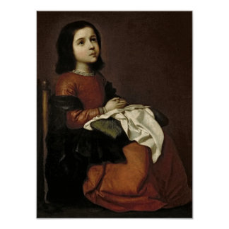 The Childhood of the Virgin, c.1660 Poster