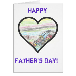 The Children's Heart Foundation's Father Day Card