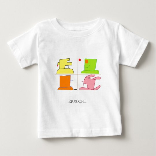The children's wear whose ekumochi is lovely baby T-Shirt
