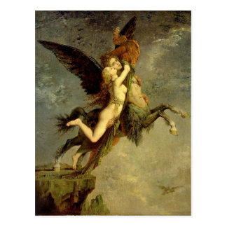 The Chimera by Gustave Moreau Postcard