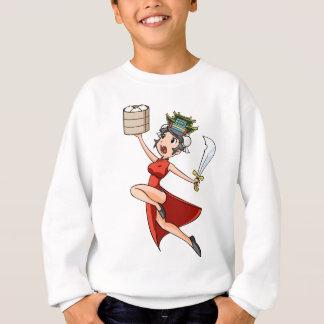The China English story Yokohama Kanagawa Sweatshirt