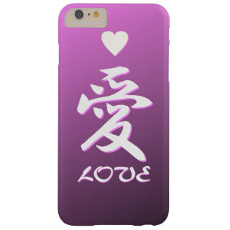 The Chinese character, Love Barely There iPhone 6 Plus Case
