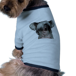 The Chinese crested dog Pet Tee Shirt
