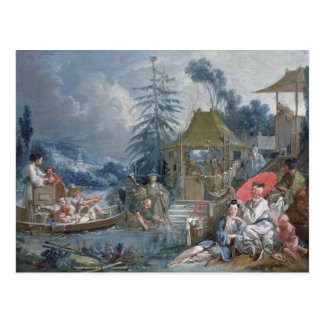 The Chinese Fishermen, c.1742 Postcard