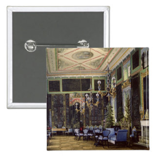 The Chinese Room in the Great Palais 2 Inch Square Button