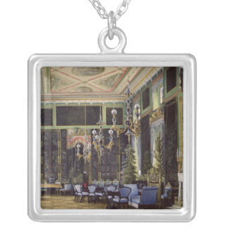 The Chinese Room in the Great Palais Silver Plated Necklace