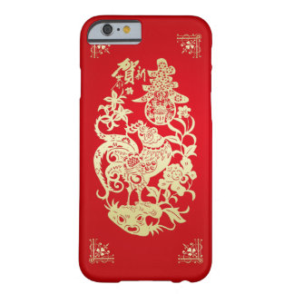 The Chinese Style design for the Year of Chicken Barely There iPhone 6 Case