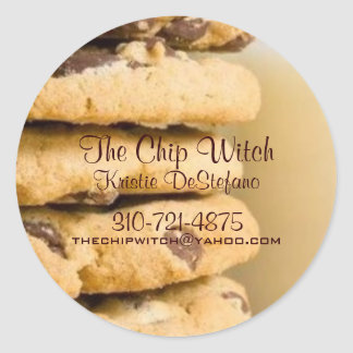 The Chip Witch Sticker