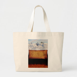 The Choice is Yours Large Tote Bag