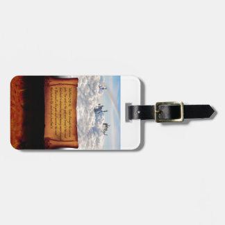 The Choice is Yours Luggage Tag