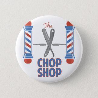 The Chop Shop 2 Inch Round Button