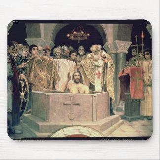 The Christening of Grand Duke Vladimir , 1885-96 Mouse Pad
