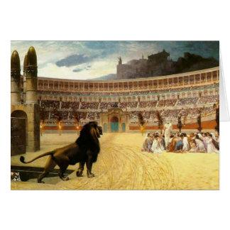 The Christian Martyrs Last Prayer Card