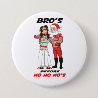 The Christmas Bros 3 Inch Round Button