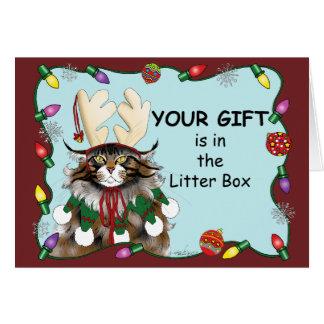 The Christmas Gift Card