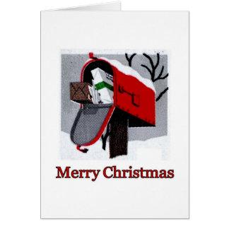 THE CHRISTMAS MAILBOX ~.jpg Card