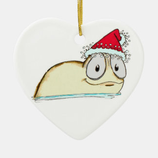 The Christmas Slug Ceramic Ornament