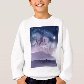The Christmas Star of Bethlehem Illustration Sweatshirt